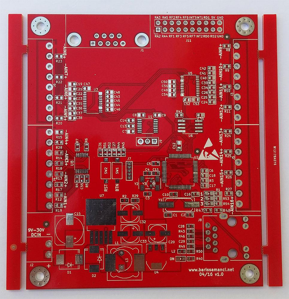 red soldermask
