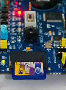 LPC2368 SD kart